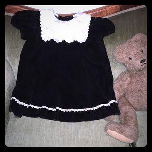 Rose cottage vintage toddler dress